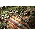 Mohawk Home Avenue Stripes Indoor/ Outdoor Printed Area Rug, 5x8, Multicolor