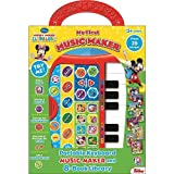 Music Fun By Disney Plays 25 Songs Piano For 3 Years And Older, Portable Keyboard And 8 Book Library