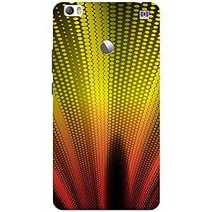 Yellow & Brown Design - Mobile Back Case Cover For Xiaomi Mi Max