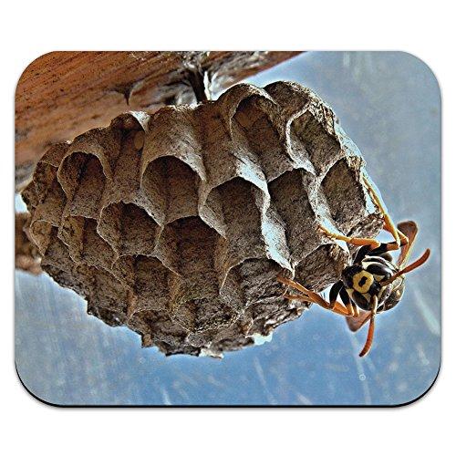 biene-wespe-hornisse-und-nest-hive-mouse-pad-mousepad