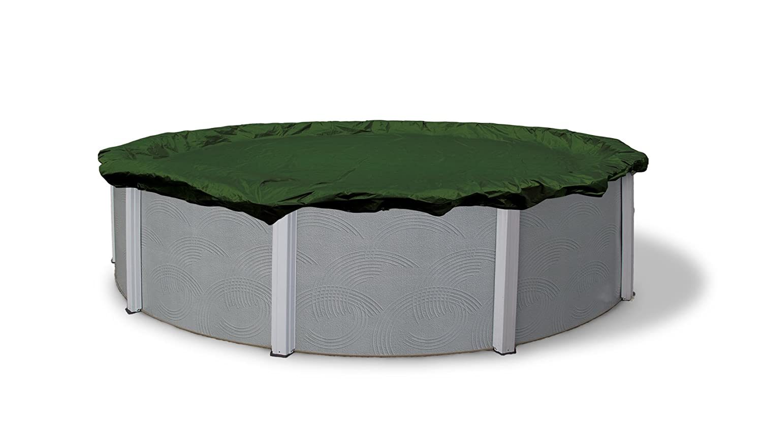 Dirt Defender 12 Year 18 Feet Round Above Ground Winter Pool Cover New Free S Ebay