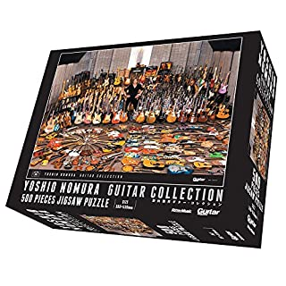 500ピース ジグソーパズル 野村義男ギター・コレクション (38×53cm)【通常版】