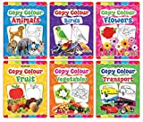 Copy Colour Book 1 to 6 (Pack)