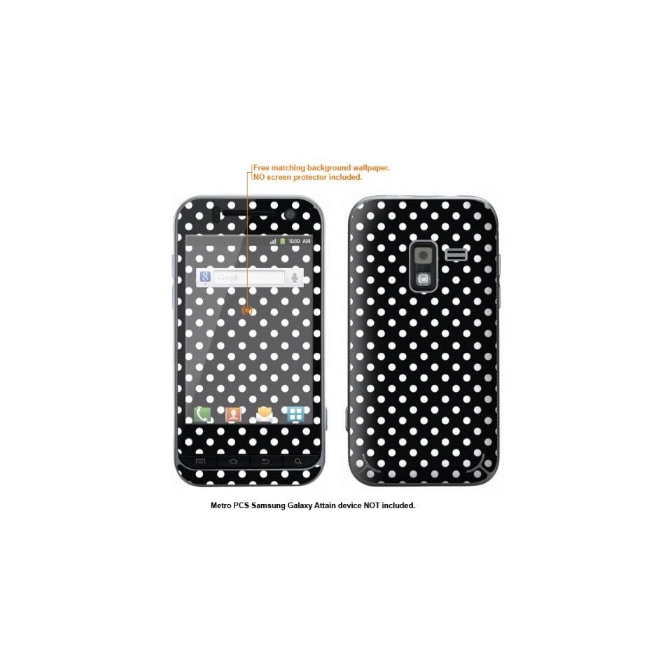 Protective Decal Skin Sticker for Metro PCS Samsung Galaxy Attain 4G case cover Attain 626