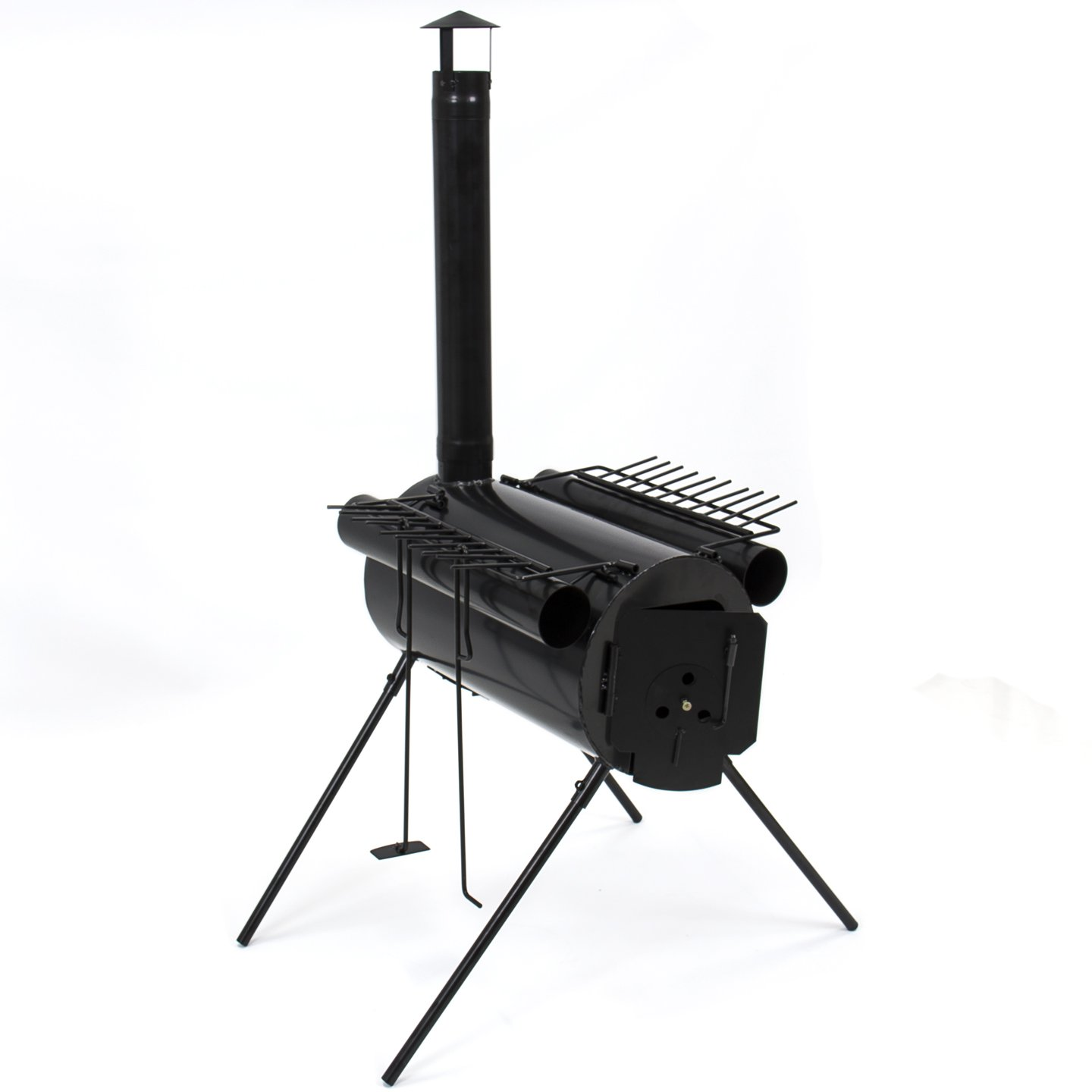 Steel Wood Heaters : Portable military camping steel wood stove tent heater