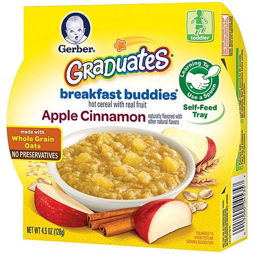 Gerber Graduates Breakfast Buddies - Apple Cinnamon front-257503