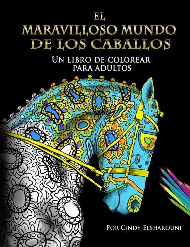 el-maravilloso-mundo-de-los-caballos-un-libro-de-colorear-para-adultos