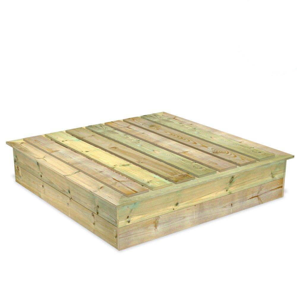 Wickey King Kong 160 x 160 Sandkasten aus Holz + Deckel jetzt kaufen