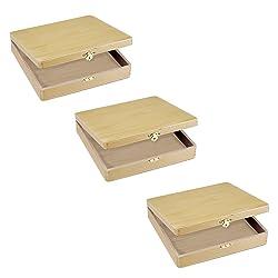 DIY Crafts Cigar Box (3 pack)