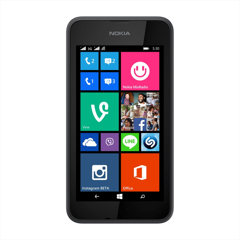 Nokia Lumia 530 (Dual SIM, Grey) Just Rs 4,308 Only Limited Stock Hurry Up