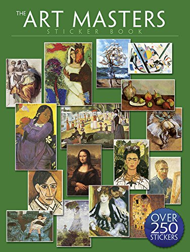 The Art Masters Sticker Book: Over 250 Stickers