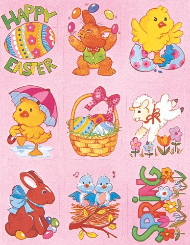 Eureka Easter Stickers