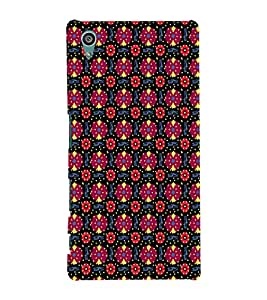 EPICCASE flowery knots Mobile Back Case Cover For Sony Xperia Z5 Premium / Z5 Plus (Designer Case)