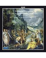 Graupner : Frohlocke gantzes Rund der Erden. Cantates pour basse. Mertens, Ad-El.
