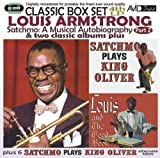 Louis Armstrong Satchmo: A Musical Autobiography - Part 2 (4th LP) & Two Classic Albums Plus (Satchmo Plays King Oliver / Louis And The Good Book) by Louis Armstrong (2013) Audio CD