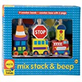 Alex Toys Mix, Stack and Beep Stacking Toy, Alex Little Hands Series