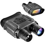 Digital Night Vision Binoculars, QIYAT Infrared 7x31 Waterproof Hunting IR Telescope with 2.0 inch TFT LCD In-view Display,1300ft/400M viewing Range, HD Photo Camera Video Recorder (Color: Black)