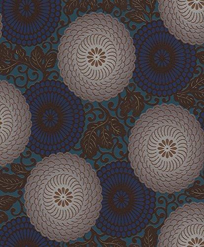 Tapete 759082 Vliestapete, klassisches, florales Motiv