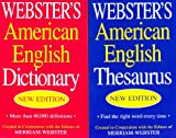 img - for Webster's American English Dictionary/Thesaurus Shrink Wrapped Set book / textbook / text book