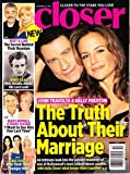 img - for December 22, 2014 Closer John Travolta and Kelly Preston Burt and Loni James Dean Glenn Campbell and Tanya Tucker Stars Over 40 book / textbook / text book