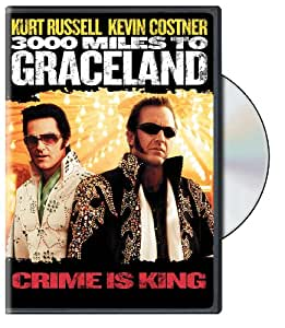 Amazon.com: 3000 Miles to Graceland (Keepcase): Kurt Russell, Kevin