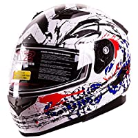 "IV2 ""Blood Scorpion"" Modular Dual Visor Motorcycle / Snowmobile Helmet DOT Approved IV2 Model #953 (X-LARGE) by IV2 Helmets"