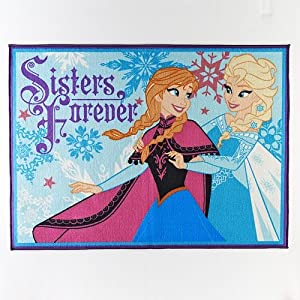 Disney Frozen Sisters Forever Rug - 40'' x 54'' by Disney