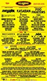 READING FESTIVAL 2012 REPRODUCTION POSTER PHOTO 16X12