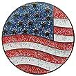 Navika US Flag Glitzy Ball Marker with Hat Clip