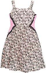 Euphoria Girls' Dress (SKU278F, Multi-Coloured, 6-7 Years)