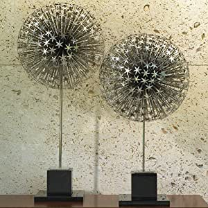 Amazon.com: Global Views Texas Dandelion Sculpture Small: Office