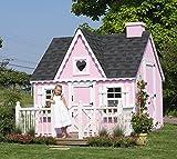 Little Cottage Company Victorian DIY Playhouse Kit, 8' x 8'