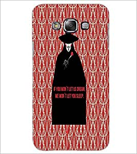 PrintDhaba Quote D-4734 Back Case Cover for SAMSUNG GALAXY E7 (Multi-Coloured)
