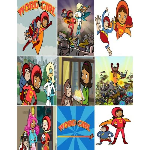 Wordgirl Becky: Amazon.com: PBS Kids Qubo Becky Botsford Captain Huggy