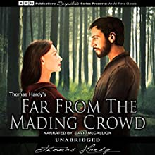 Far from the Madding Crowd (       UNABRIDGED) by Thomas Hardy Narrated by David McCallion