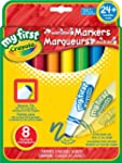 Crayola My First 8-Count Washable Mar...