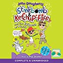 Stinkbomb & Ketchup-Face and the Evilness of Pizza Audiobook by John Dougherty Narrated by Max Dowler