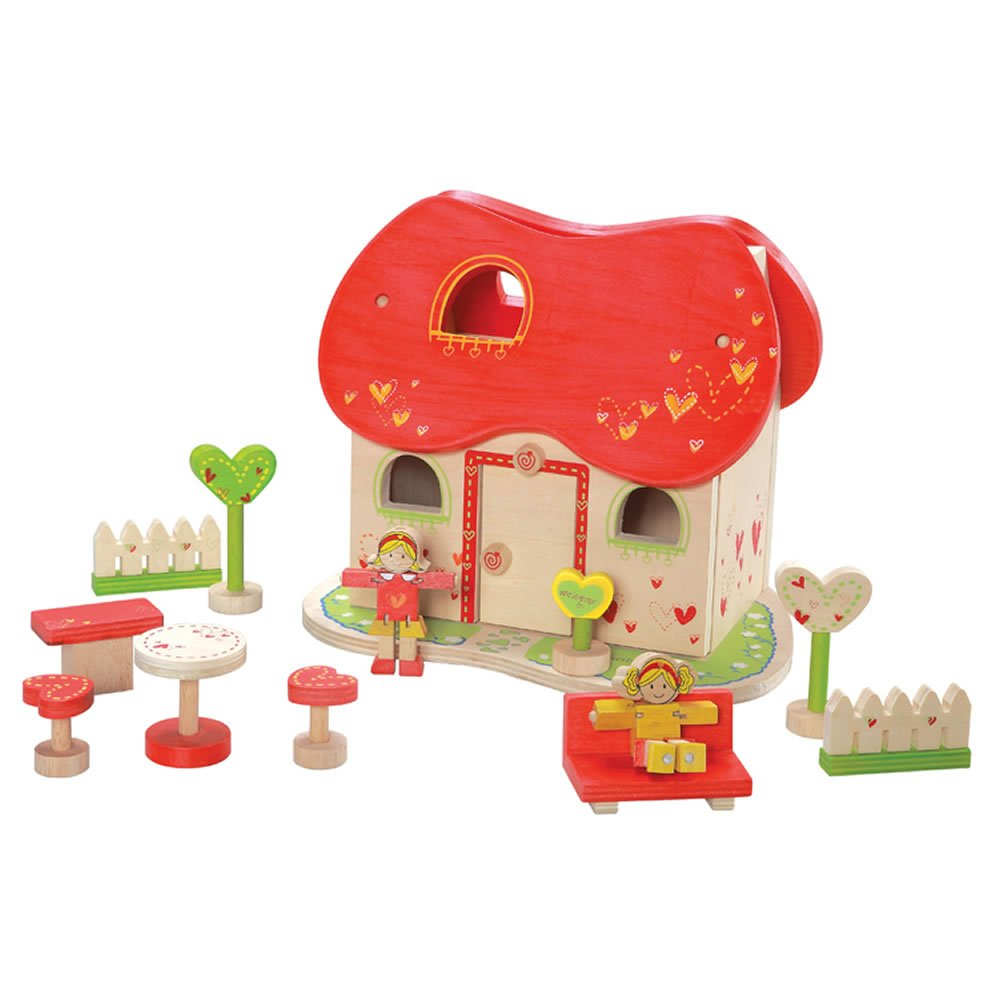 Maxim EverEarth Fairytale Dollhouse With Furniture