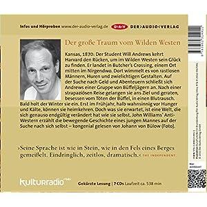Butcher´s Crossing: Lesung mit Johann von Bülow (7 CDs)
