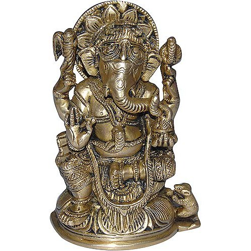 Ganesh Statue Religious Gift Handmade Home Decor from India