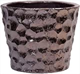 Home Essentials 66716 9 in. Round Flower Pot Thumb Copp Pot