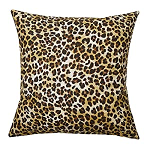 Animal Print Sofa Pillows : Amazon.com - Decorative Pillow Covers Couch Sofa 18 x 18 Square Cover Animal Print