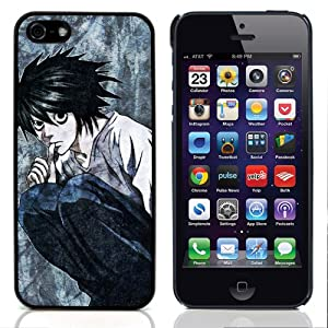 iLookcase Japanese Anime Series - DEATH NOTE Character Hard Plastic Back Case for Apple iPhone 5 5Th 5G With 3 Pieces Screen Protector and One Stylus Pen