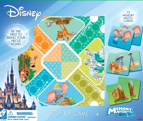 Disney Pop Up and Memory Match Game