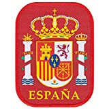 Spain Embroidery Patch 90mm x 70mm One Size