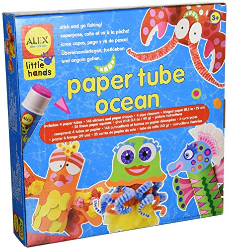 ALEX Toys Little Hands Paper Tube Ocean