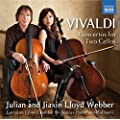 Vivaldi: Concertos For Two Cellos [Julian & Jiaxin Lloyd Webber] [Naxos: 8.573374]