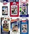 MLB Minnesota Twins 6 Different Licensed Trading Card Team Sets