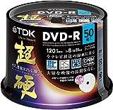 TDK 録画用DVD-R CPRM対応 16倍速対応 ホワイトワイドプリンタブル 超硬シリーズ 50枚スピンドル DR120HCDPWC50PA