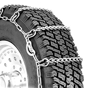 Security Chain Company QG2219CAM Quik Grip Light Truck Type CAM LSH Tire Traction Chain – Set of 2